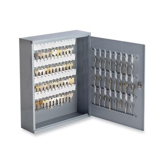 Sparco Grey All-steel Secure Locking Key Cabinet