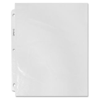 Sparco Standard Top-loading Sheet Protectors - 100/BX