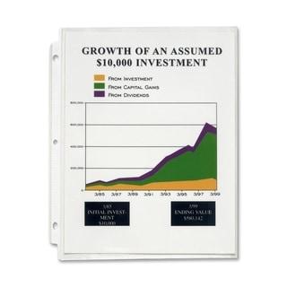 Sparco High-Capacity Sheet Protectors (Box of 25)
