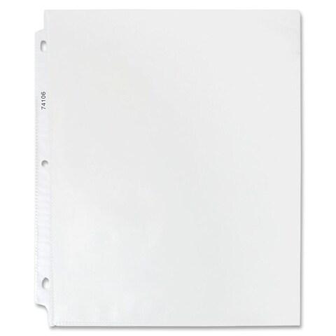Sparco Top-Loading Polypropylene Sheet Protectors