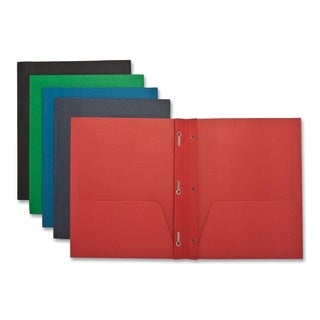 Sparco 2-pocket Folders with Fasteners (Box of 25)