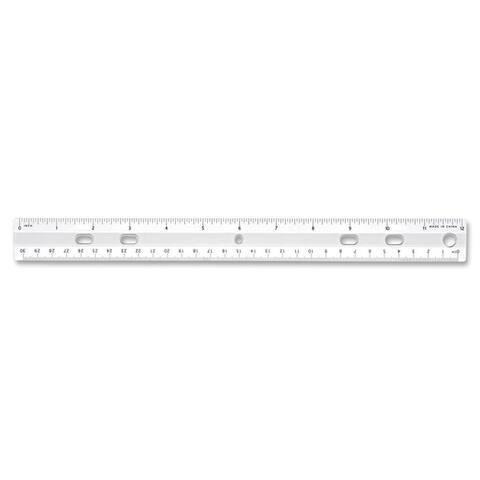 Sparco 12-inch Standard Metric Ruler