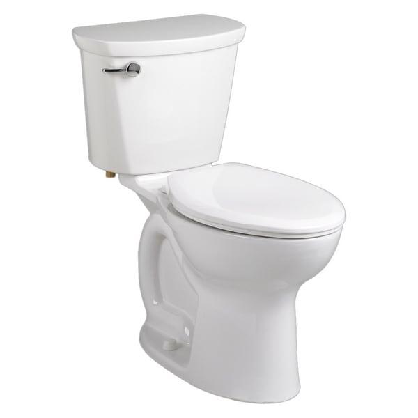 American Standard Linen Champion Pro Elongated Toilet Combo Left-lever Seat