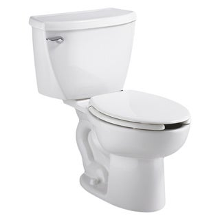American Standard White Right Height Elongated Cadet Pressure Assistance 1.6Gpf Toilet Combo