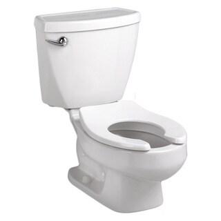 American Standard White Baby Devoro Round-front Toilet 1.28 10-inch Round