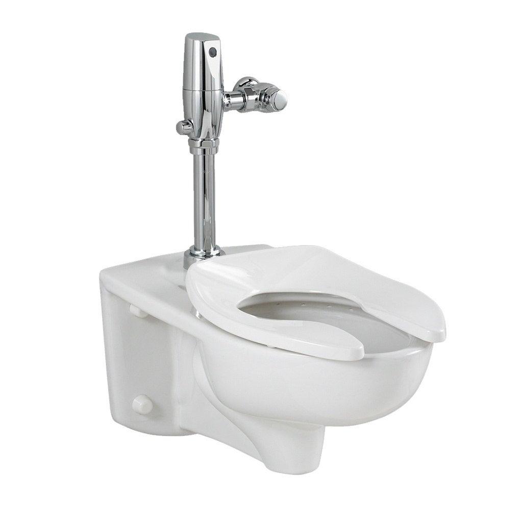 American Standard White Aall Ada Retro Universal Toilet S...
