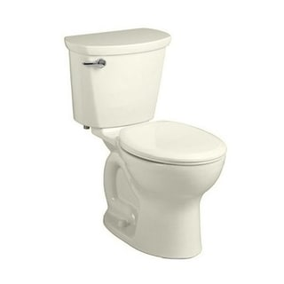 American Standard Linen Cadet Pro Right Height Round-front 10-inch Round Left-lever Seat