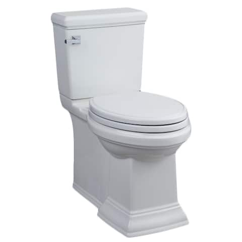 American Standard Town Square FloWise Right Height Elongated Two-Piece Toilet