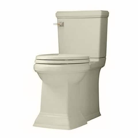 American Standard Linen Town Square Concealed Trapway Right Height Elongated Toilet Combo