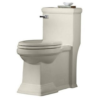 American Standard Linen Town Square Concealed Trapway Right Height Elongated 1-piece Toilet