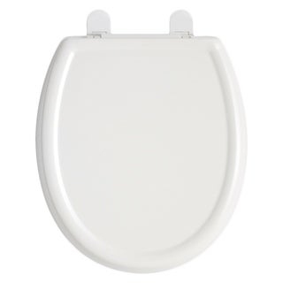 American Standard White Cadet 3 Elongated Slow Close Plastic Seat