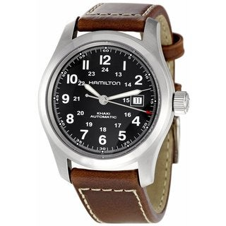 Hamilton Men's H70455533 Khaki Field Automatic Silver Watch