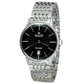 Hamilton Men's H38455131 Intra-Matic Silver Watch
