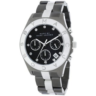 Marc Jacobs Women's MBM3179 Blade Gunmetal Stainless Steel Watch