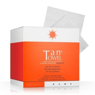 Tan Towel Full Body Plus 15-piece Tanning Towelette Set