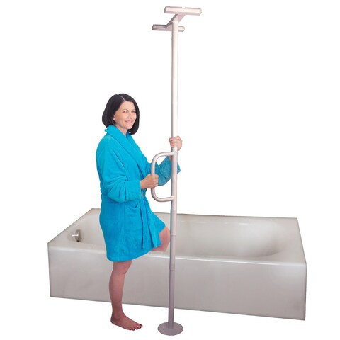 Able Life Universtal Floor-to-Ceiling Tension-mounted Transfer Pole Grab Bar