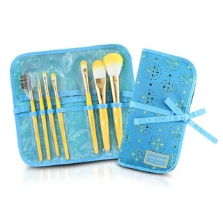 Jacki Design Cosmopolitan 7-piece Makeup Brush and Bag Set