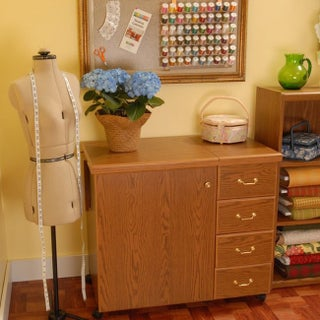 Arrow 'Norma Jean' Crafts & Sewing Machine Table Furniture Storage Cabinet (4 options available)