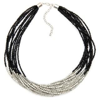 Alexa Starr Mutli-strand Seed Bead Necklace