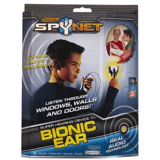 Spy Net Super Hearing Bionic Ear Kids Listening Device