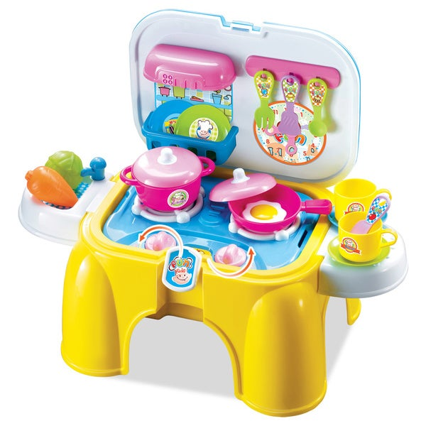 Berry toys my first portable play and carry kitchen play for Kitchen set portable