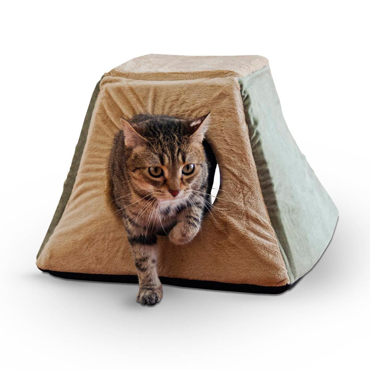 K&H Manufacturing K&H 3-in-1 Thermo Kitty Cabin Heated Pe...
