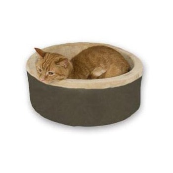 K&H Manufacturing Thermo-Kitty Bed (Mocha (Brown))