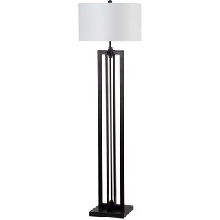 Safavieh Lighting 58.5-inch Tanya Tower Black Floor Lamp