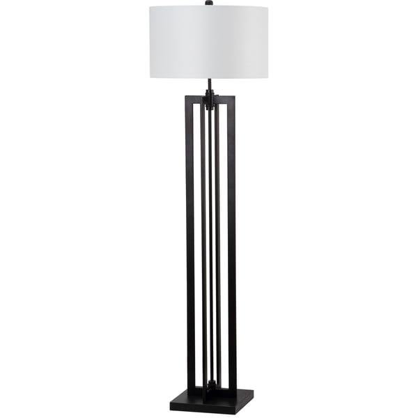 Safavieh Lighting 58.5-inch Tanya Tower Black Floor Lamp