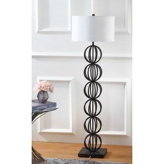 Safavieh Lighting 59-inch Suzie Sphere Black Floor Lamp