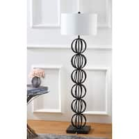 Safavieh Lighting 59-inch Suzie Sphere Black Floor Lamp