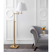 Safavieh Lighting 60-inch Ingram Swivel Gold Floor Lamp