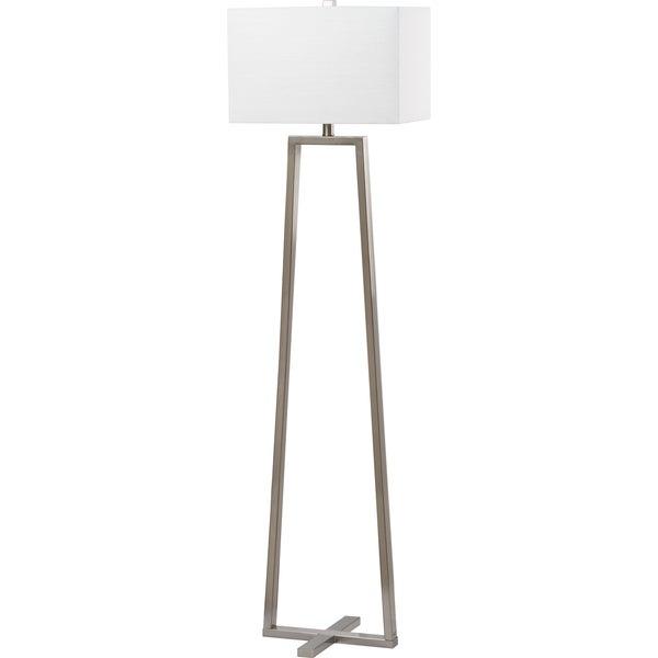 Safavieh Lighting 60-inch Lyell Nickel Floor Lamp