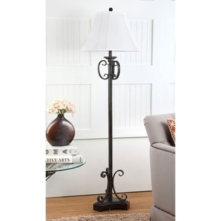 Safavieh Lighting 63-inch Isabella Oil-Rubbed Bronze Floor Lamp