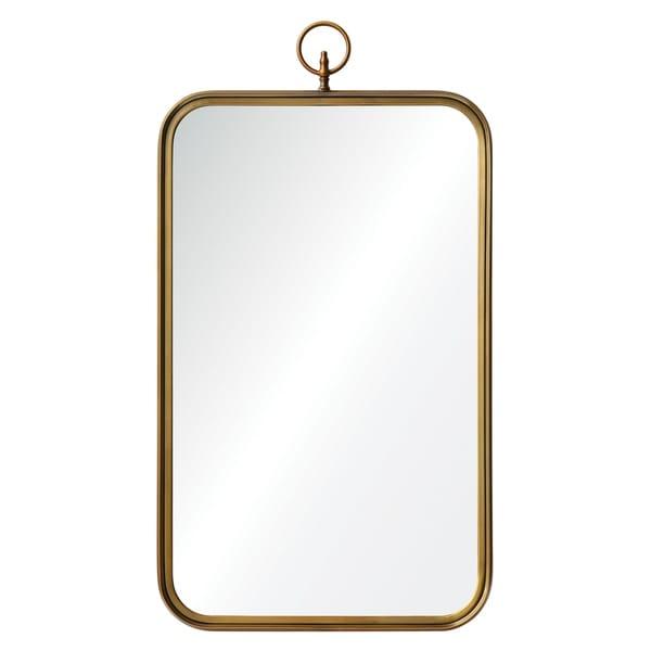 Ren Wil Coburg Brass Mirror