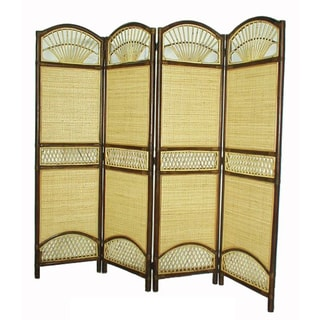 Handmade D-Art Rattan Screen Divider (Indonesia)