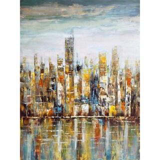 Aurelle Home The City' Canvas Art