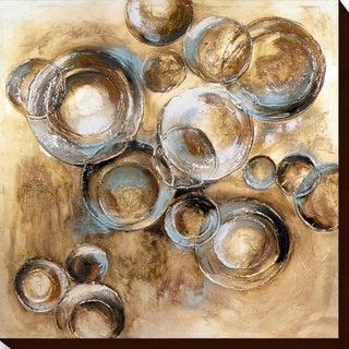 Aurelle Home 'Circles 1' Canvas Wall Art