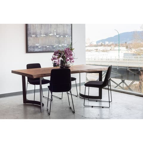 Aurelle Home Polk European Dining Chair (Set of 2)
