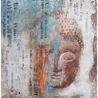 Aurelle Home Asia Budda Canvas Art Print