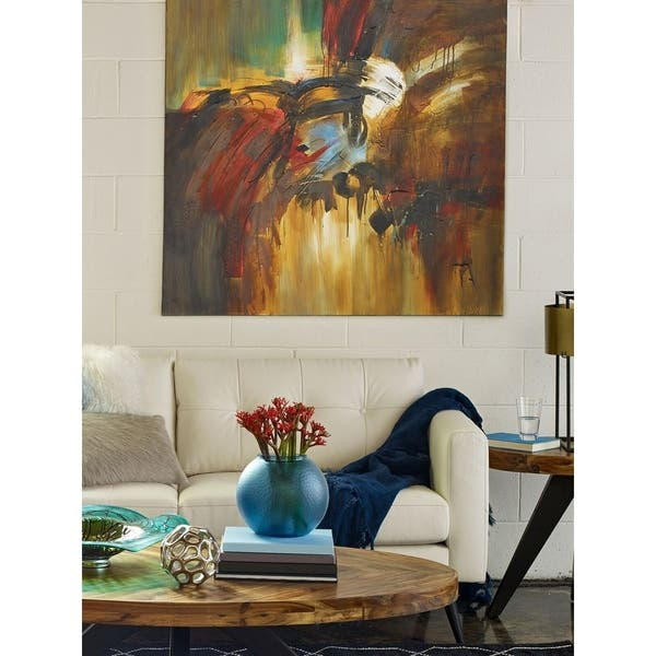 Shop Aurelle Home Bright Absract Canvas Art Print - Multi