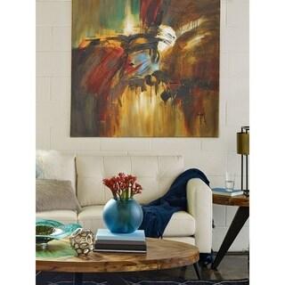 Aurelle Home 'The Crash' Canvas Art Print