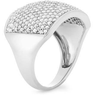 10k White Gold 1 1/2ct TDW Diamond Ring