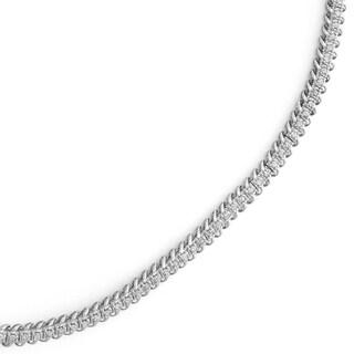 10k Gold 1ct TDW Diamond Link Tennis Bracelet (H-I, I1-I2)