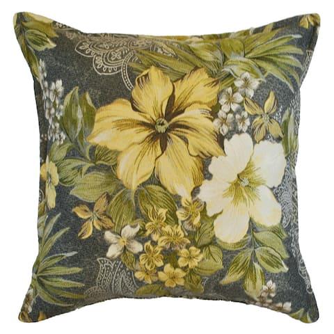 Sherry Kline 20-inch Luxury Oasis Garden Throw Pillow