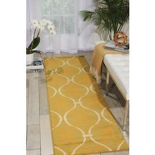 Nourison Nova Green Apple Rug (2'2 x 7'3)