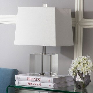 Safavieh Lighting 19-inch McKinley Clear Table Lamp
