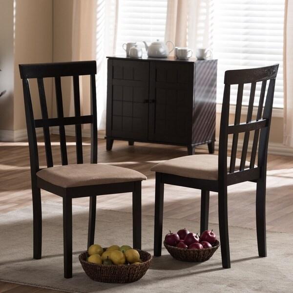Shop Baxton Studio Jet Moon Modern Wood Dining Chair Set