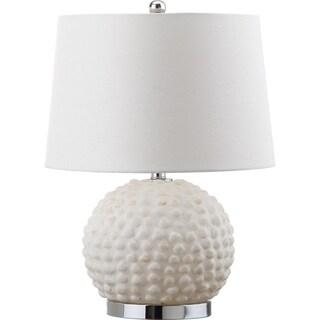 Safavieh Lighting 21.5-inch Forbes Cream Table Lamp