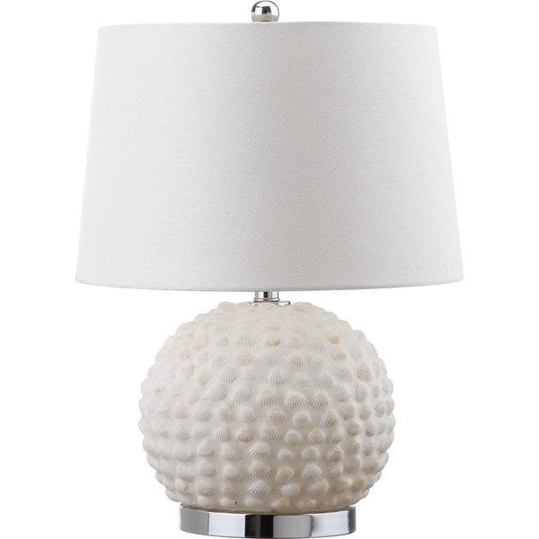 Safavieh Lighting 21.5-inch Forbes Cream Table Lamp